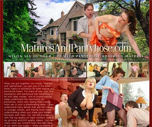 Matures And Pantyhose - Nylon Sex Of Your Life With Pantyhose Admiring Matures